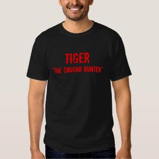 "TIGRE, ""le chasseur de puma "" Tshirt"