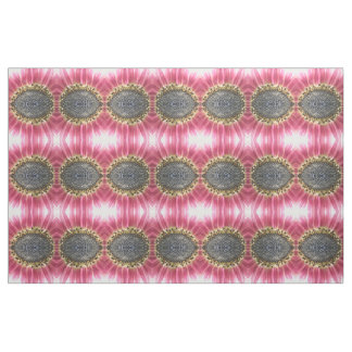 Tissu modelé floral de beau tournesol rose