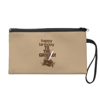 To the Ground Wristlet Clutches
