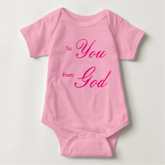 To: You, From: God Shirt