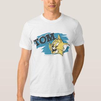 Tom Blue and Yellow Logo Shirt