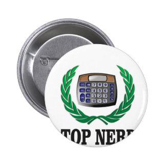 top nerd award 2 inch round button