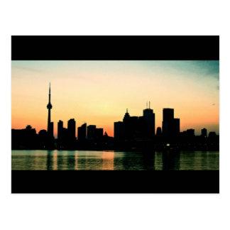 Toronto Sunset Postcard