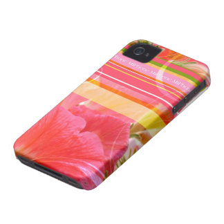 Touched petunia iPhone 4 covering iPhone 4 Covers