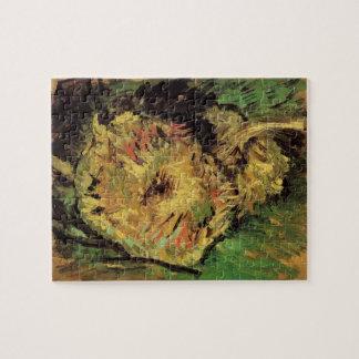 Tournesols coupés de Van Gogh 2, beaux-arts Puzzle