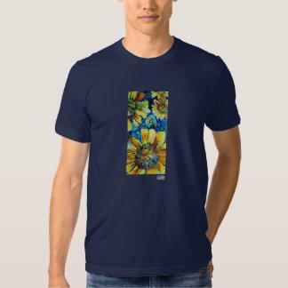 Tournesols, T-shirts de beaux-arts pour les hommes