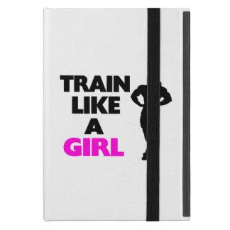 Train Like A Girl Cases For iPad Mini