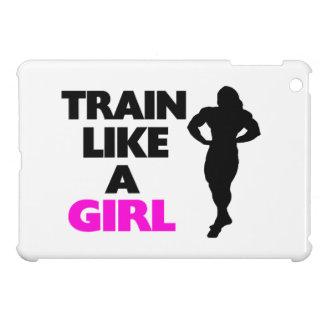 Train Like A Girl iPad Mini Case