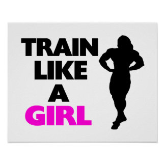 Train Like A Girl Poster