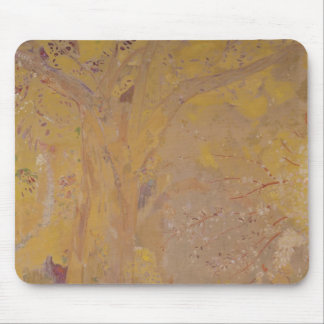 Tree Against a Yellow Background, 1901 Mouse Pad