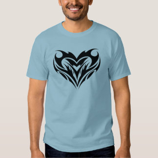 Tribal heart tattoo - Cool T Shirts