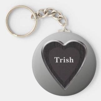 Trish Heart Keychain by 369MyName