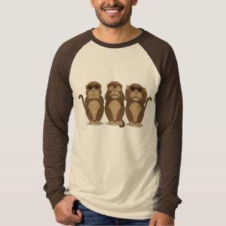 Trois singes t-shirt