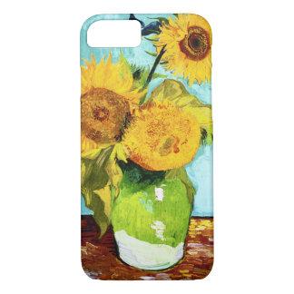 Trois tournesols par des beaux-arts de Van Gogh Coque iPhone 7