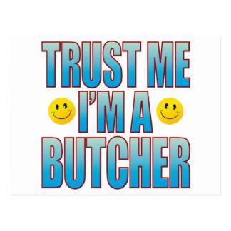 Trust Me Butcher Life B Postcard