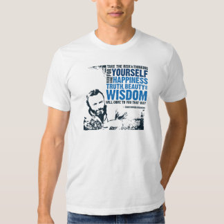 Truth, Beauty and Wisdom T-shirts