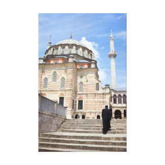 Tulip Mosque in Istanbul Stretched Canvas Prints