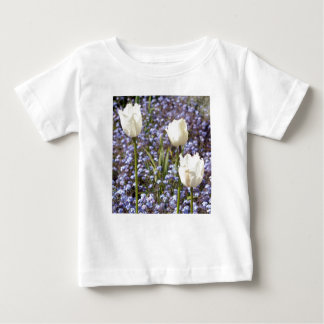 Tulipes blanches t-shirts