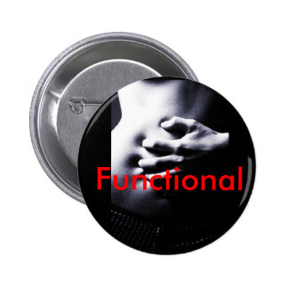 tummy, Functional, ibs, irritable, stomach 2 Inch Round Button