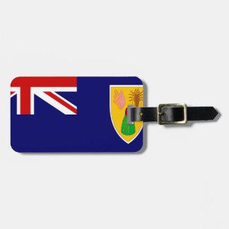 Turks And Caicos Islands Flag Travel Bag Tags