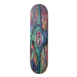 Twisted Eye Oil Painting Skate Board Decks