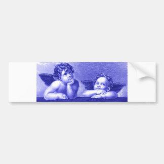 Two Cherubs Bumper Sticker