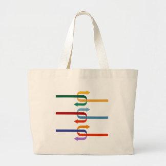 Two compatible company arrows jumbo tote bag
