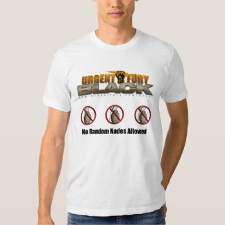 UF Black Random Nades T-shirts