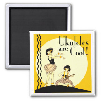 Ukes are Cool! Magnet