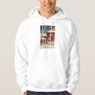 ukiyoe hooded pullovers