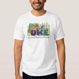 Ukulele Design Tee Shirts