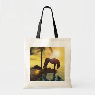 unicorn tote reflections budget tote bag