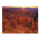 United States, Utah, Bryce Canyon National Park. Postcard