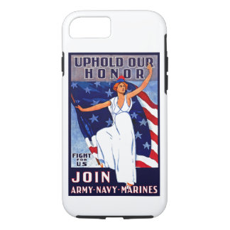 Uphold Our Honor iPhone 7 Case