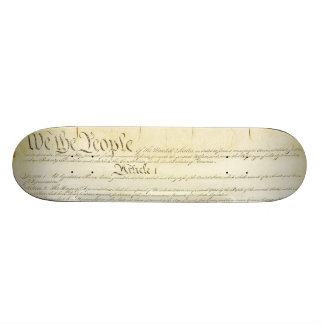 US Constitution Skate Board