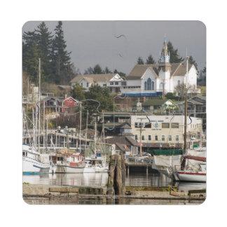 USA, Wa, Kitsap Peninsula. Scenic Town. Puzzle Coaster