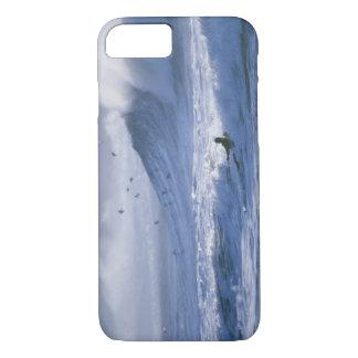 USA, Washington State, La Push. Man kayak iPhone 7 Case