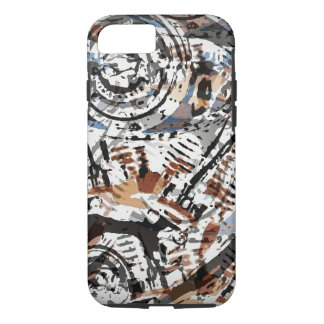 V-Twin Abstract Reverse iPhone 7 Case
