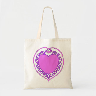 Valentines`Celtic Heart' Budget Tote Budget Tote Bag