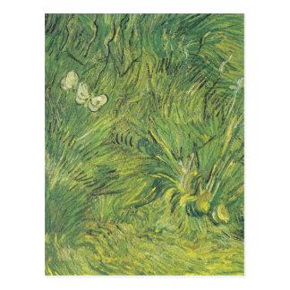 Van Gogh | Butterflies | New address Postcard