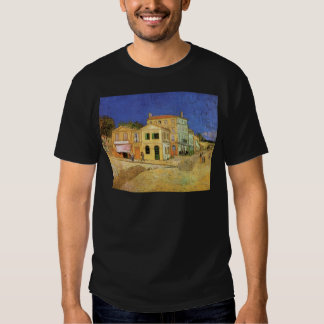 Van Gogh Vincent's House in Arles, Fine Art T-shirts