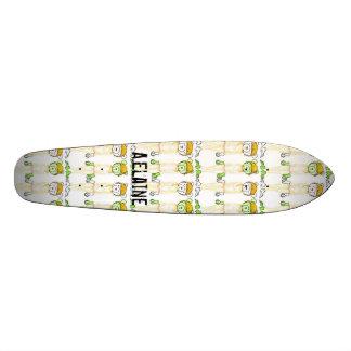 Vanilla Milk Wallpaper- colored pencil, Vanilla... Custom Skateboard
