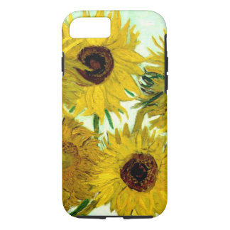Vase avec douze tournesols, beaux-arts de Van Gogh Coque iPhone 7