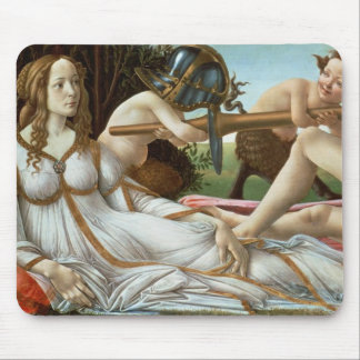 Venus and Mars, c.1485 (tempera and oil) Mouse Pad