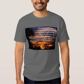 Véritable chemise de paradis t-shirt