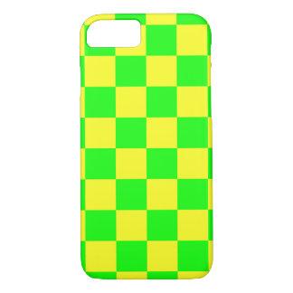 VERT DE DAMIER ! ~ COQUE iPhone 7