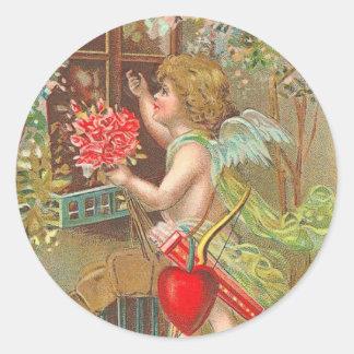 Victorian Valentine's Day Stickers
