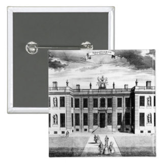 View of Marlborough House in Pall Mall 2 Inch Square Button
