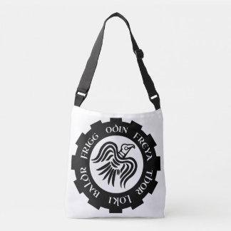 Viking Raven Banner Odin Thor Frigg Tote Bag