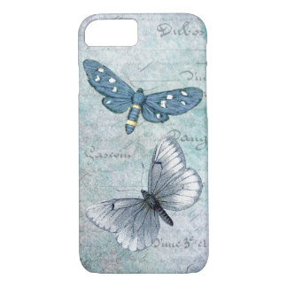 Vintage Butterflies French Grunge iPhone 7 Case